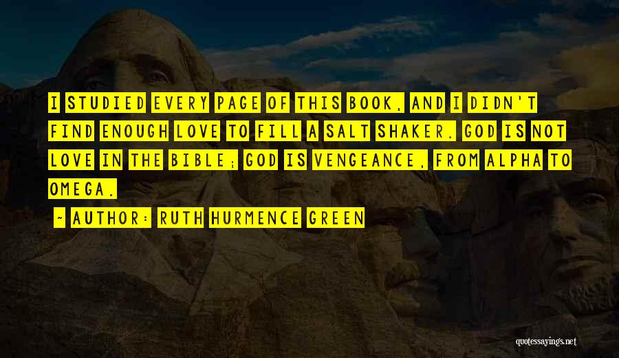 Love In The Bible Quotes By Ruth Hurmence Green