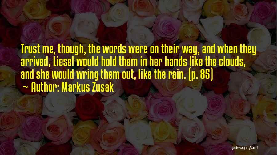 Love In The Book Thief Quotes By Markus Zusak