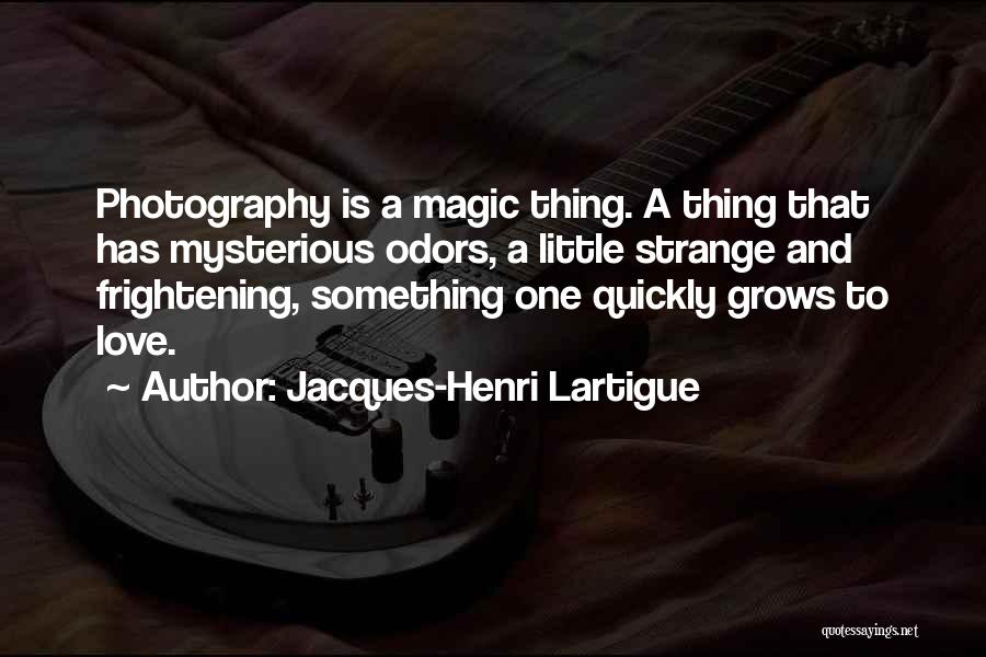 Love Is Frightening Quotes By Jacques-Henri Lartigue