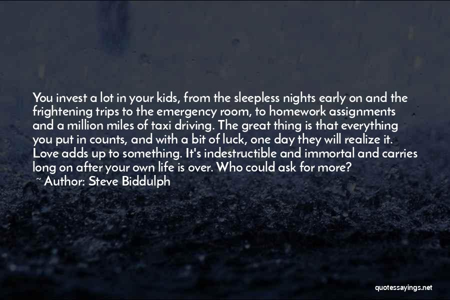 Love Is Frightening Quotes By Steve Biddulph