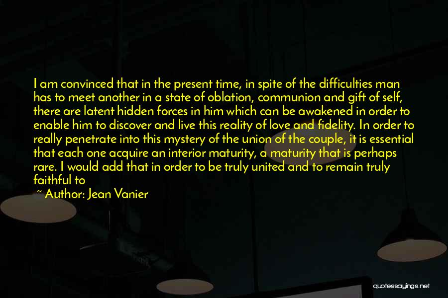 Love Is Gift Of God Quotes By Jean Vanier