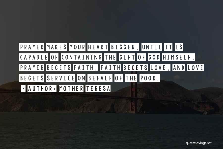 Love Is Gift Of God Quotes By Mother Teresa