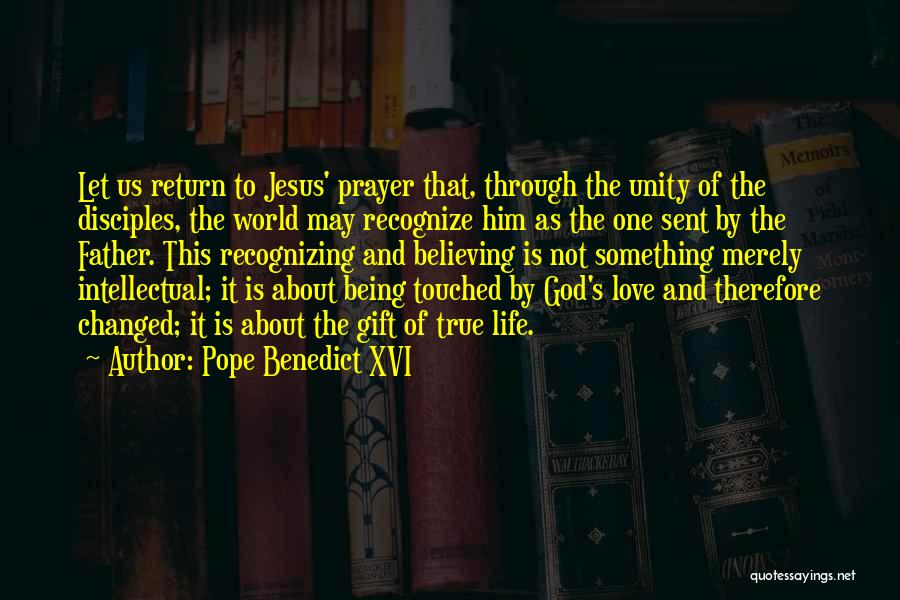 Love Is Gift Of God Quotes By Pope Benedict XVI
