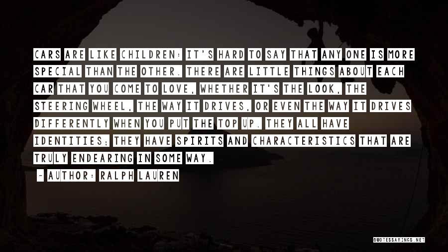 Love Is Hard Quotes By Ralph Lauren