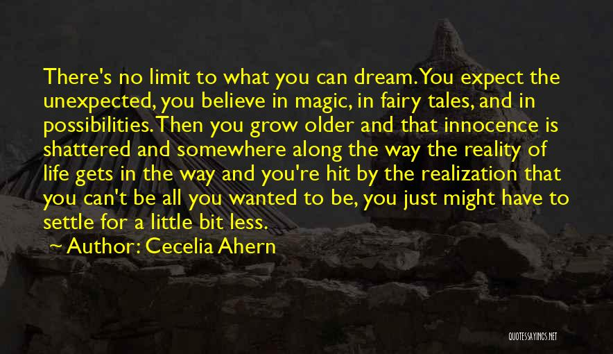 Love Is Just A Dream Quotes By Cecelia Ahern
