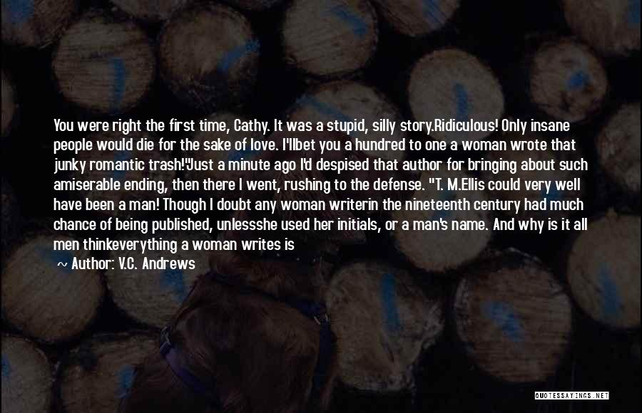 Love Is Just A Dream Quotes By V.C. Andrews