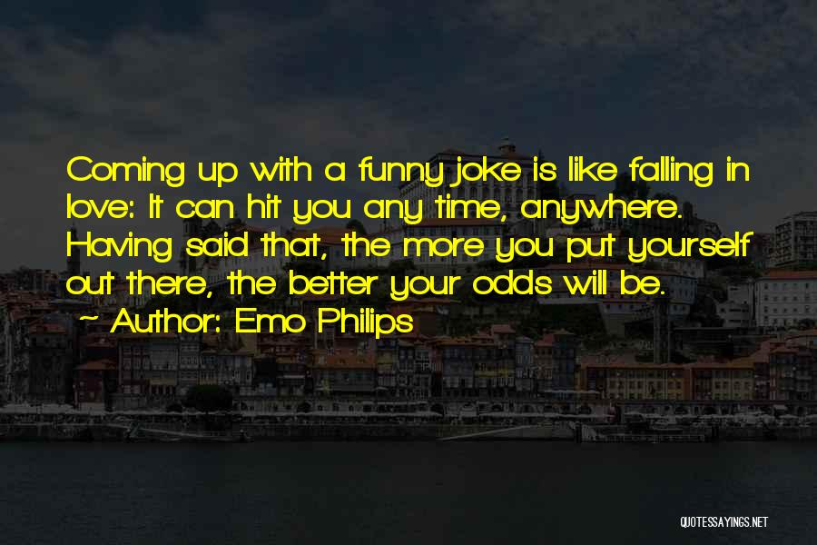 Love Is Just A Joke Quotes By Emo Philips