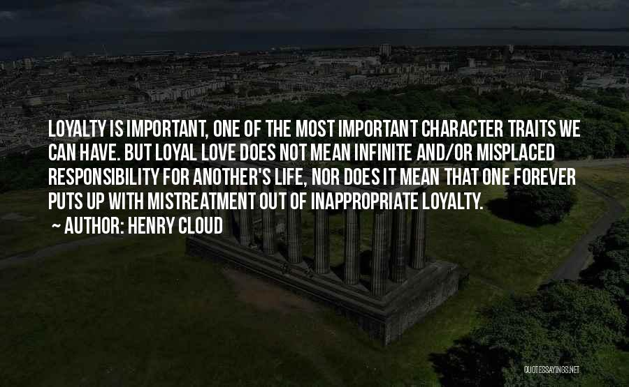 Love Is Life Quotes By Henry Cloud