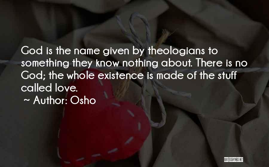 Love Is Life Quotes By Osho