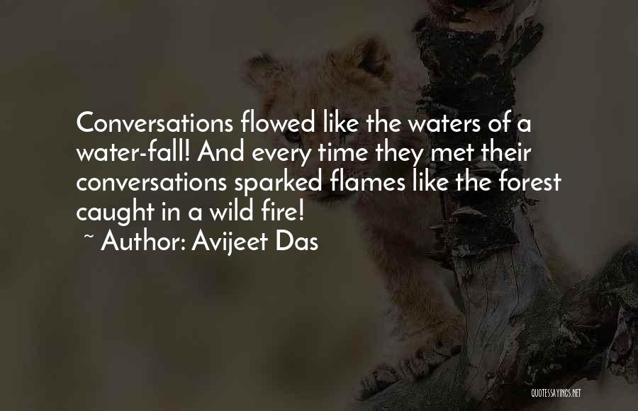 Love Is Like Water Quotes By Avijeet Das