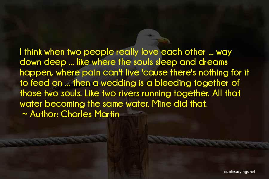 Love Is Like Water Quotes By Charles Martin