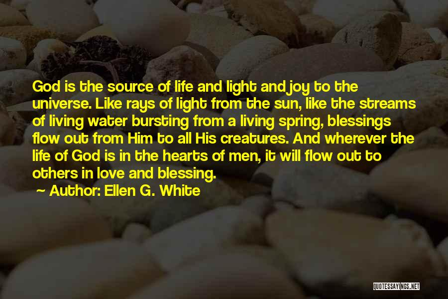 Love Is Like Water Quotes By Ellen G. White