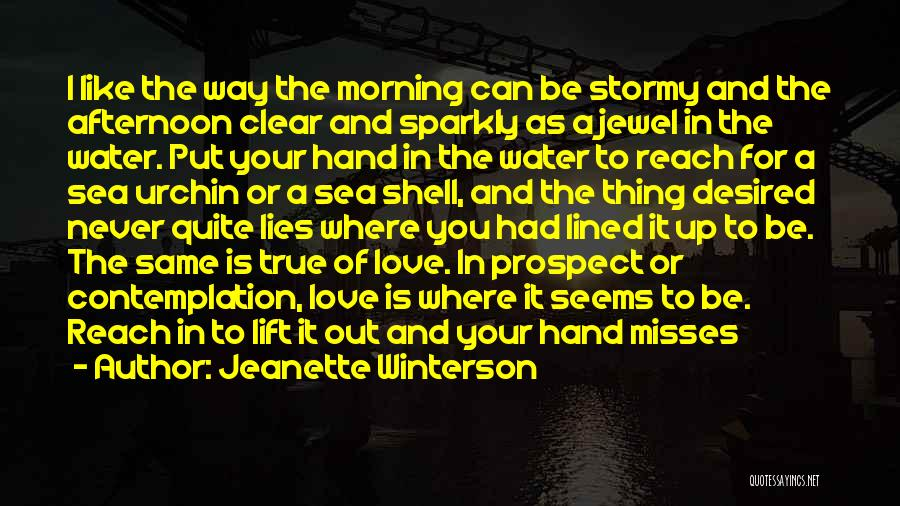 Love Is Like Water Quotes By Jeanette Winterson