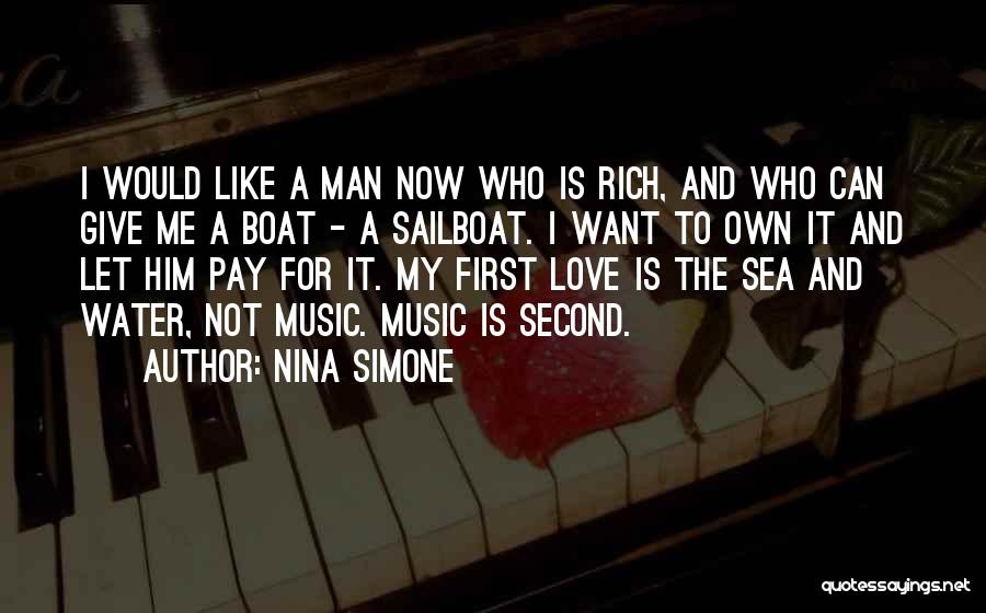 Love Is Like Water Quotes By Nina Simone