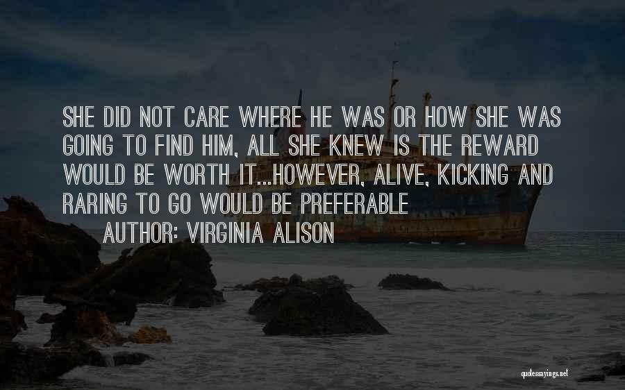 Love Is Not Lust Quotes By Virginia Alison