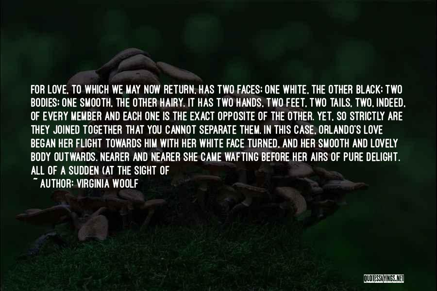Love Is Not Lust Quotes By Virginia Woolf