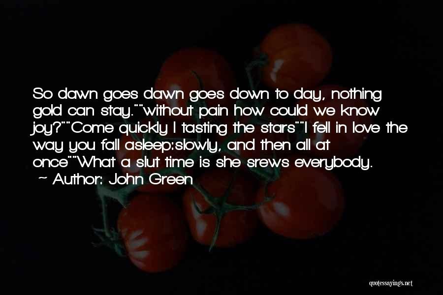 Love Is Nothing Without You Quotes By John Green