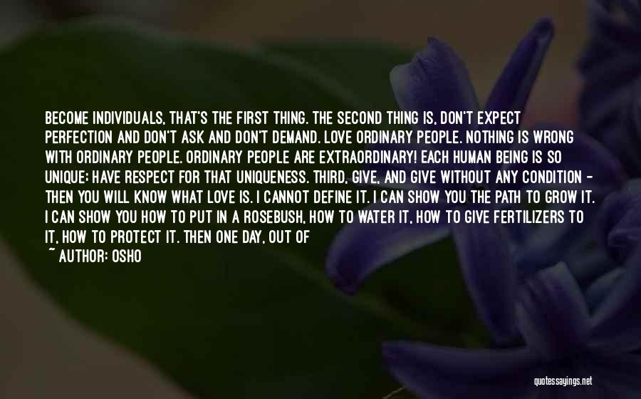 Love Is Nothing Without You Quotes By Osho
