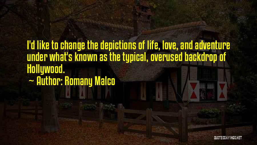 Love Is Overused Quotes By Romany Malco
