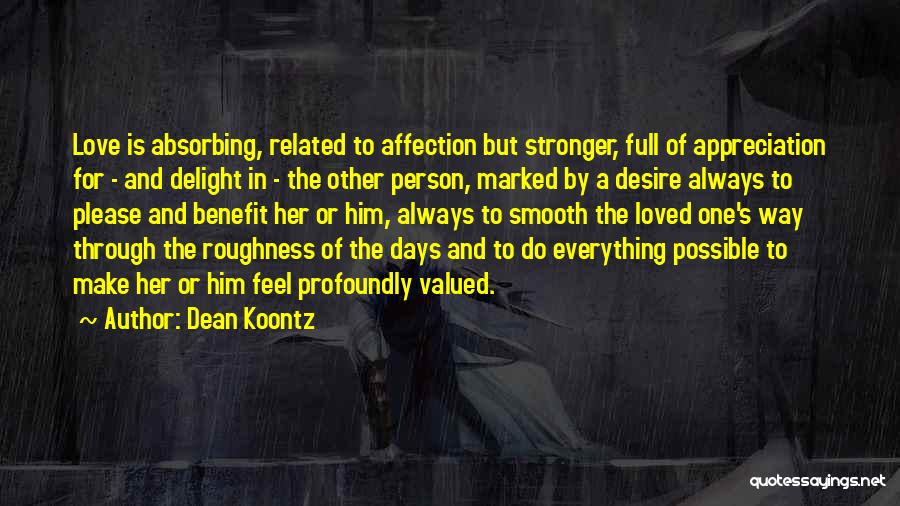 Love Is Stronger Than Everything Quotes By Dean Koontz