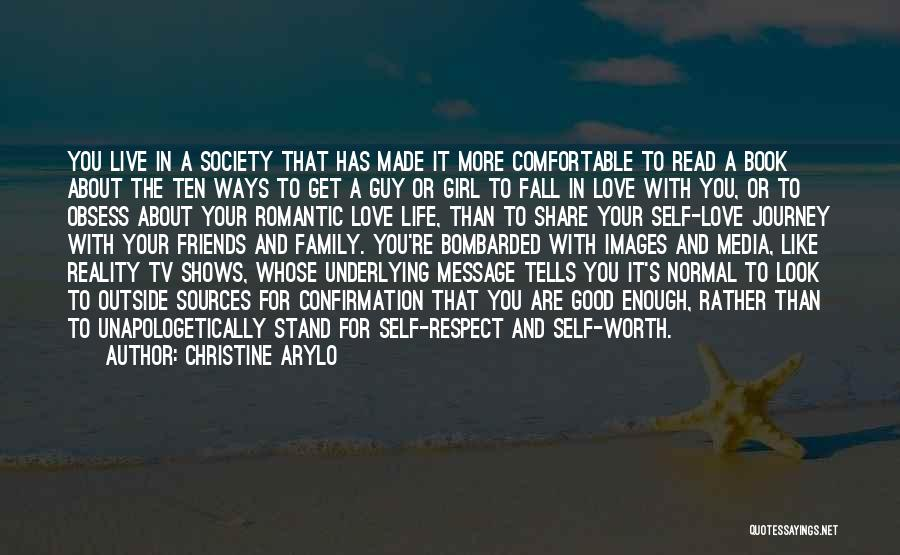 Love Is Worth The Fall Quotes By Christine Arylo