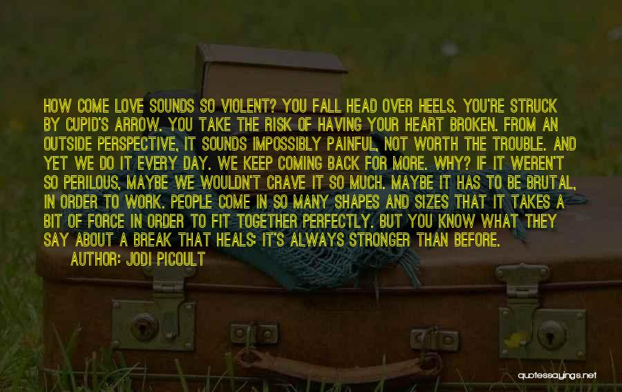 Love Is Worth The Fall Quotes By Jodi Picoult