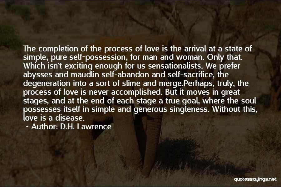 Love Isn't Simple Quotes By D.H. Lawrence
