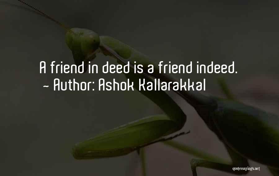 Love Kills Quotes By Ashok Kallarakkal