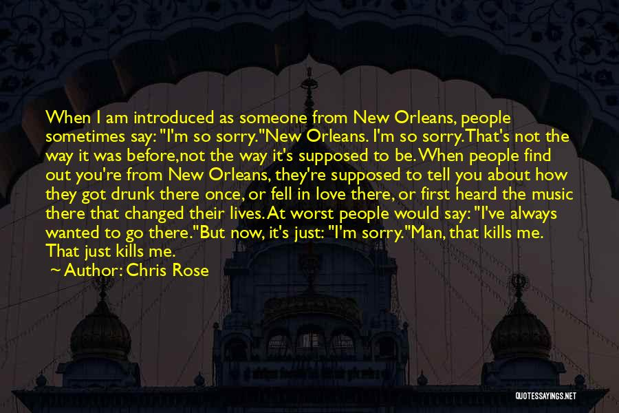 Love Kills Quotes By Chris Rose