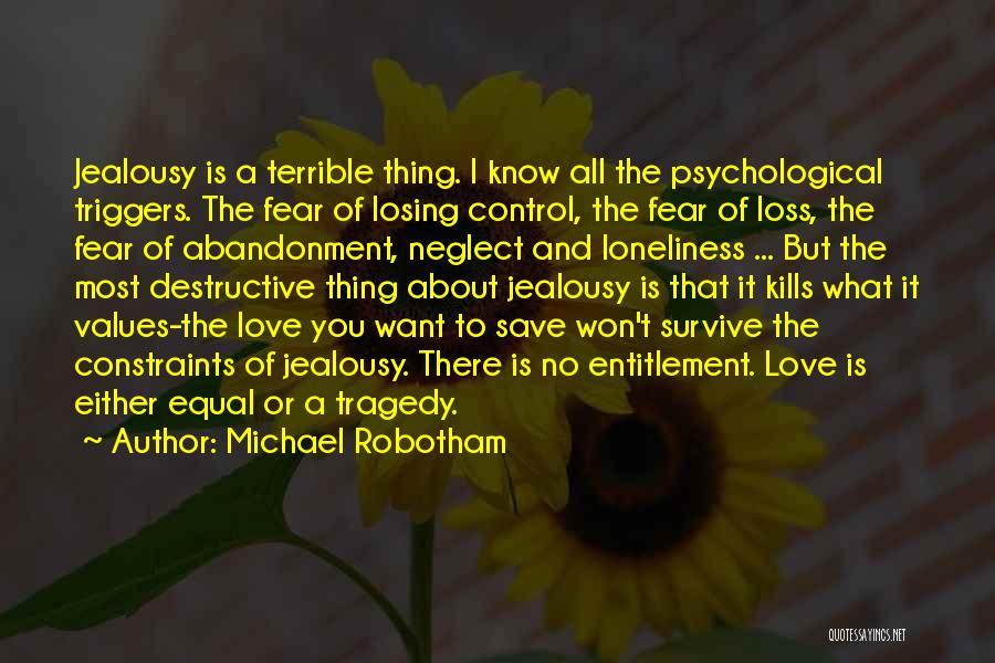 Love Kills Quotes By Michael Robotham