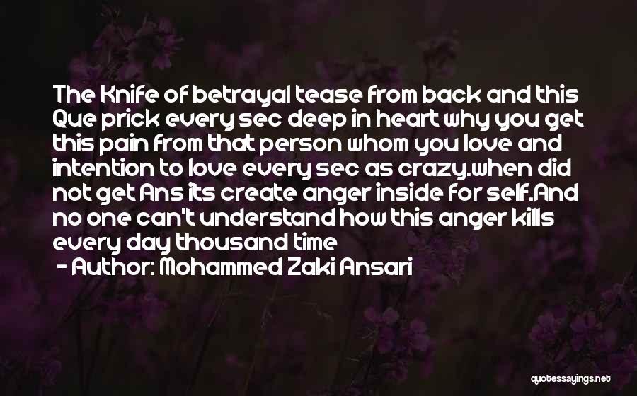 Love Kills Quotes By Mohammed Zaki Ansari