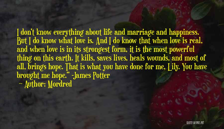 Love Kills Quotes By Mordred