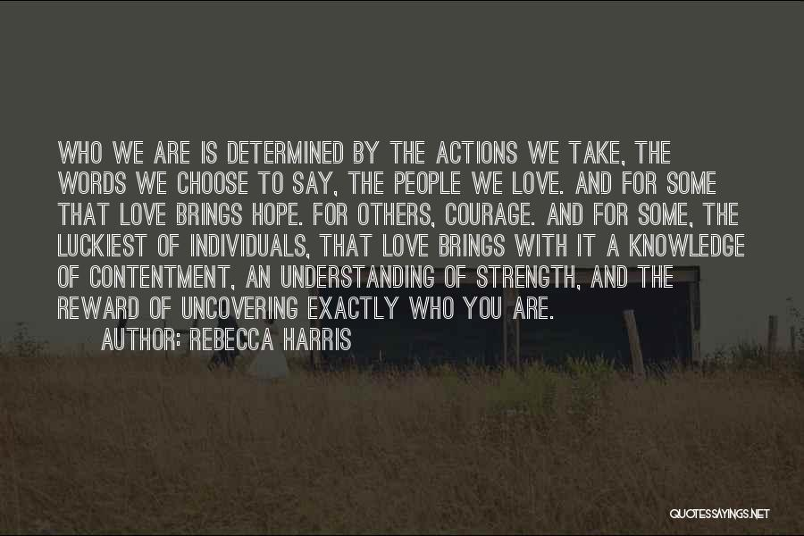 Love Kills Quotes By Rebecca Harris