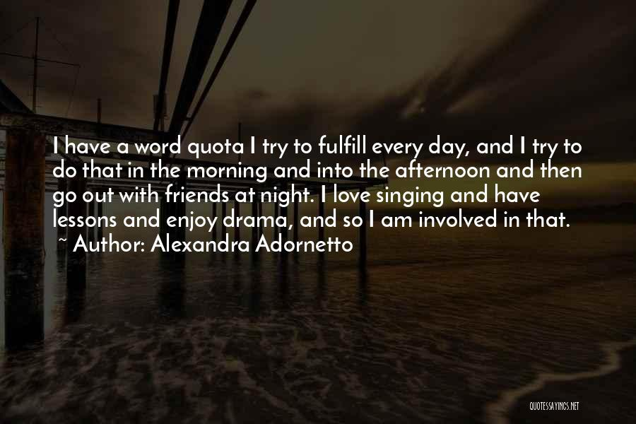Love Lessons Quotes By Alexandra Adornetto