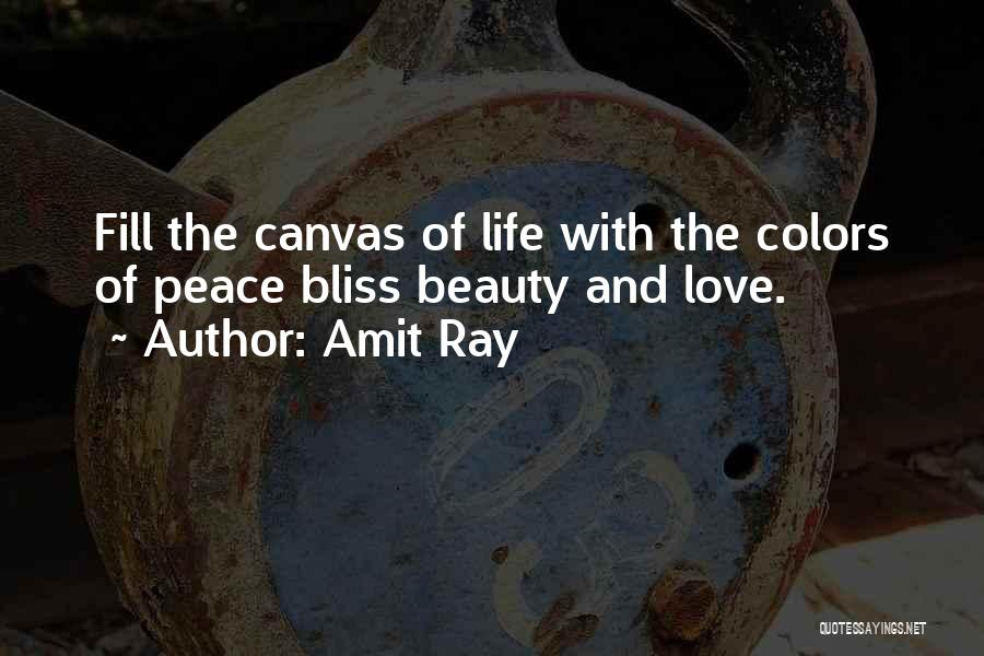 Love Lessons Quotes By Amit Ray