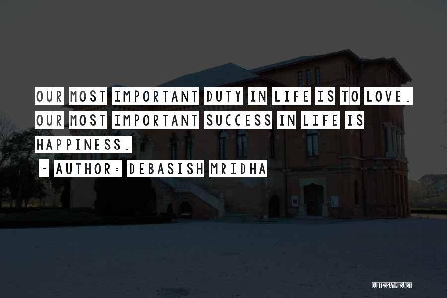 Love Lessons Quotes By Debasish Mridha