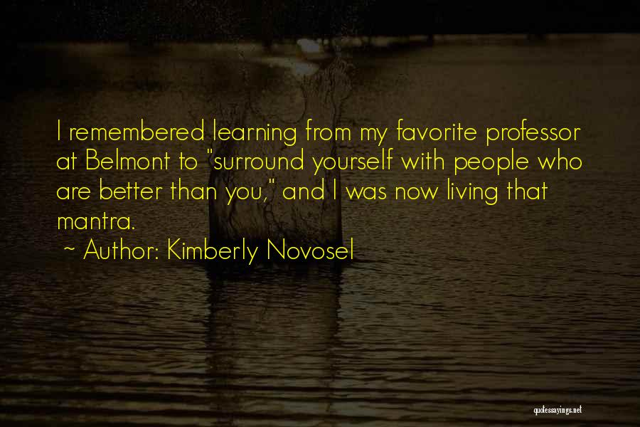 Love Lessons Quotes By Kimberly Novosel