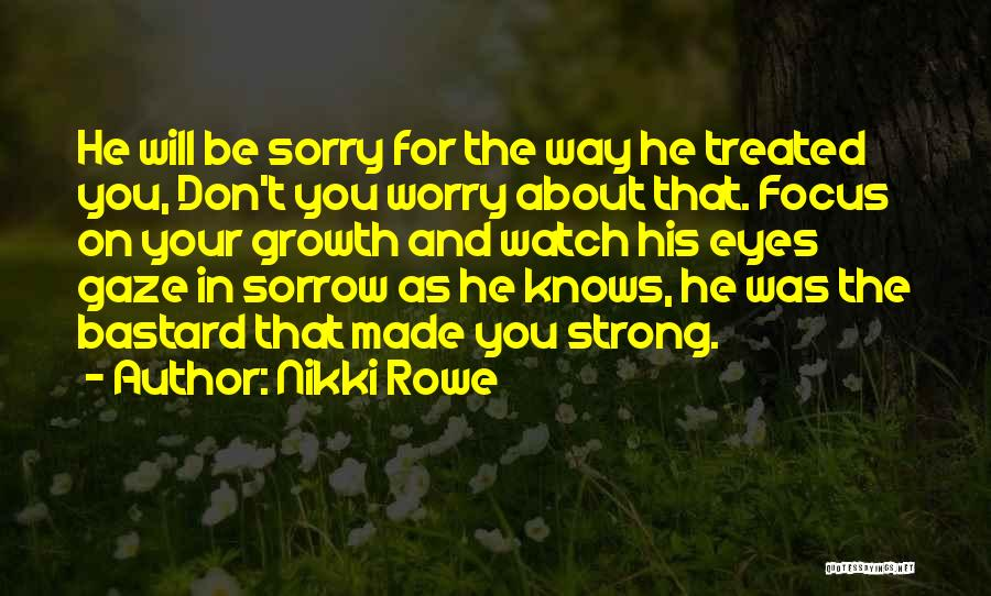 Love Lessons Quotes By Nikki Rowe