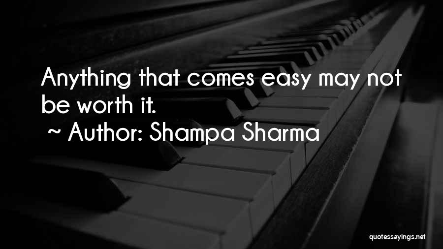 Love Lessons Quotes By Shampa Sharma