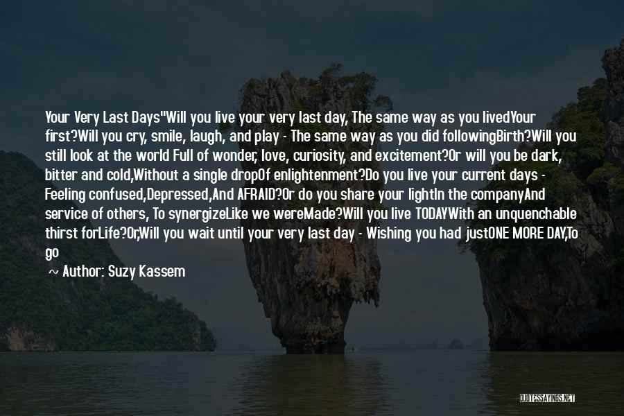 Love Life And Live Quotes By Suzy Kassem