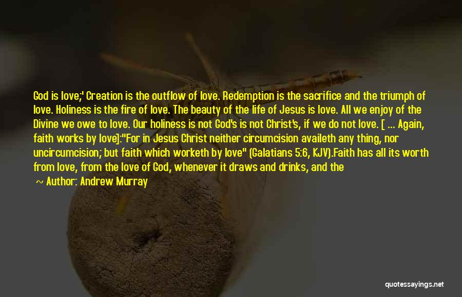 Love Life God Quotes By Andrew Murray