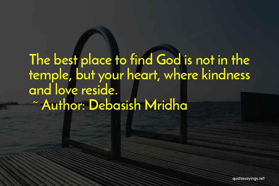 Love Life God Quotes By Debasish Mridha