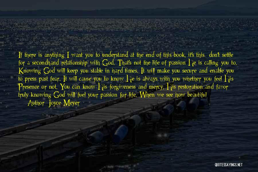 Love Life God Quotes By Joyce Meyer