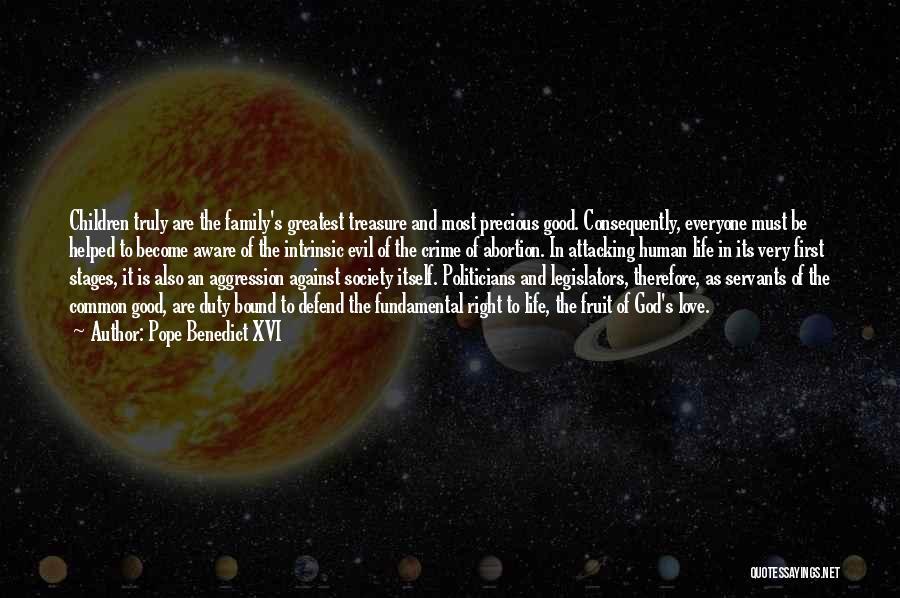 Love Life God Quotes By Pope Benedict XVI