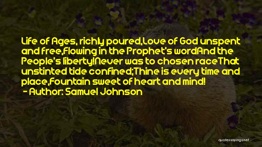 Love Life God Quotes By Samuel Johnson