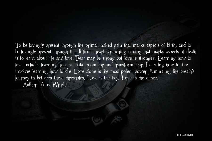 Love Life Learning Quotes By Amy Wright