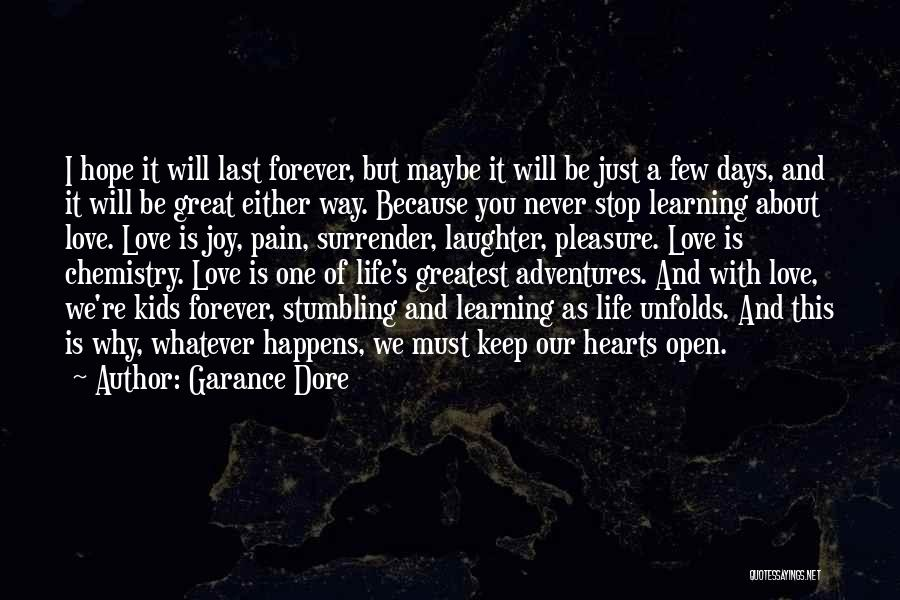 Love Life Learning Quotes By Garance Dore