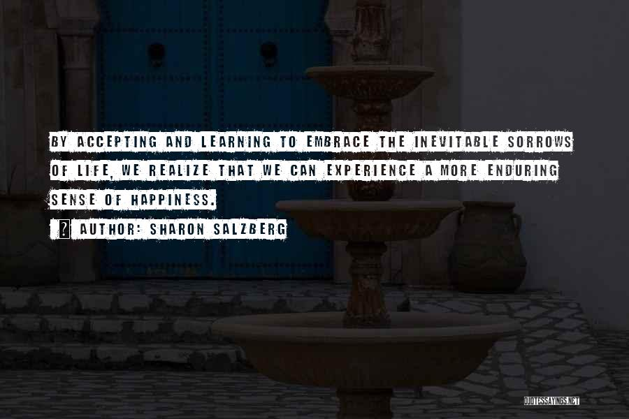 Love Life Learning Quotes By Sharon Salzberg