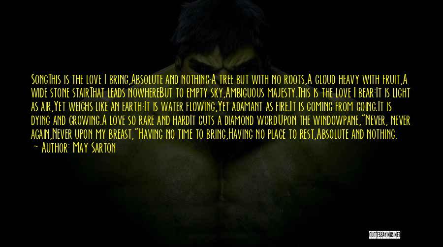 Love Like Tree Quotes By May Sarton