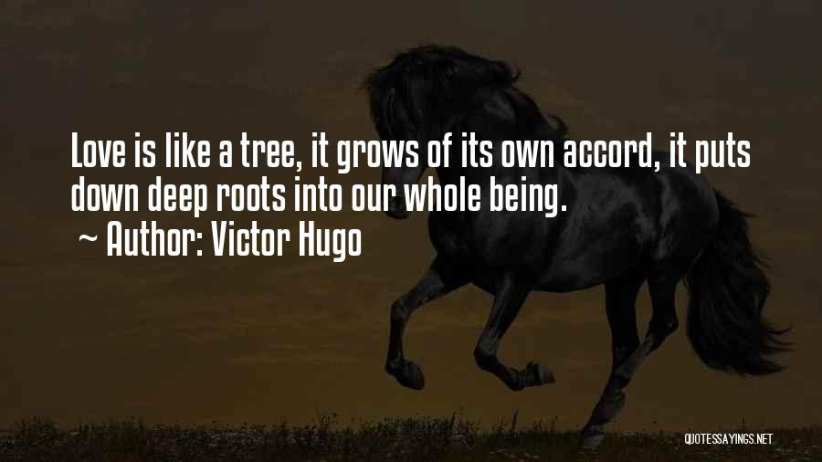 Love Like Tree Quotes By Victor Hugo
